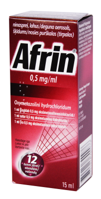 afrin spray 15ml