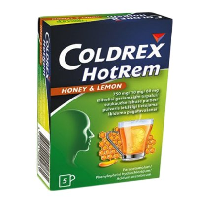 coldrex hot rem honey end lemon n5