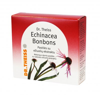 dr theiss echinacea bonbons past 50g