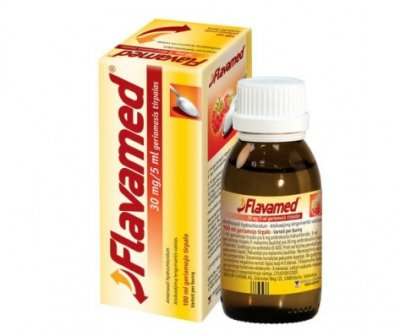 flavamed 30mg 5ml sirupas 100ml