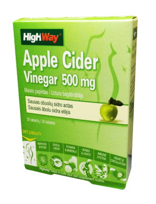 highway apple cider vinegar tabletes n30
