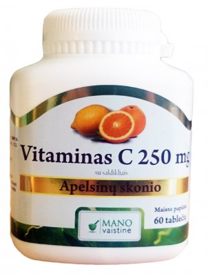 mv vitaminas c 250 mg n60