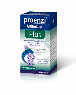 proenzi arthrostop plus tabletes n100