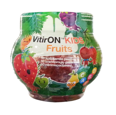 vitiron kids fruit n50