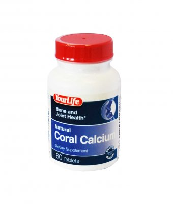 your life natural coral calcium tab n60