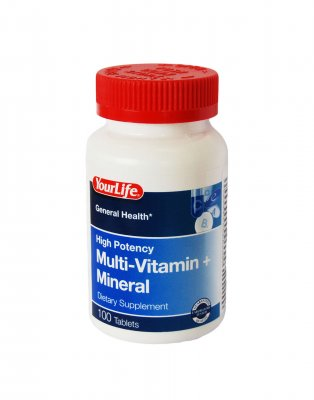 your life potency mult mineral tab n100