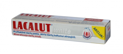 dant pasta lacalut white 30ml