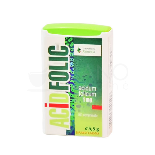 folic acid tabletes n100