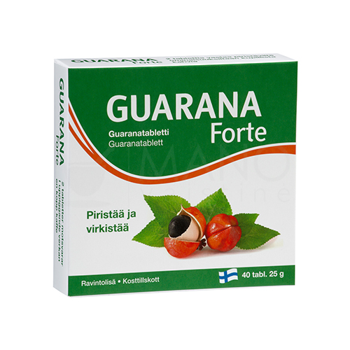 guarana svorio netekimo papildas