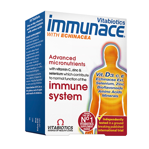 immunace with echinacea