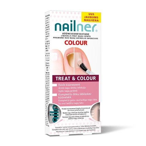 Nailner teptukas nagų grybeliui gydyti 5 ml