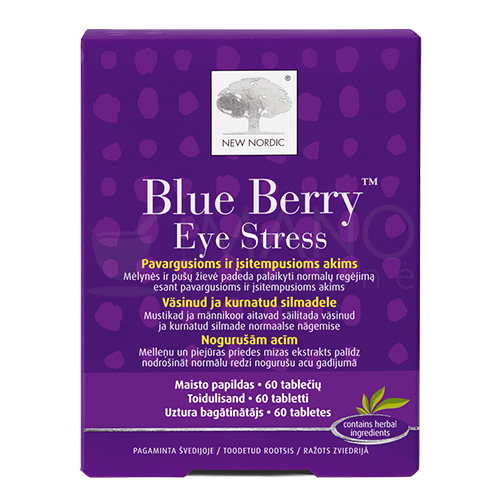 new nordic blue berry eye stress tabletes n60