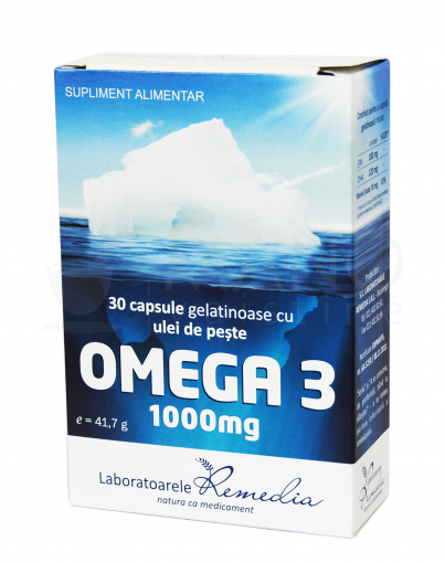 omega 3 1000mg gel caps n30
