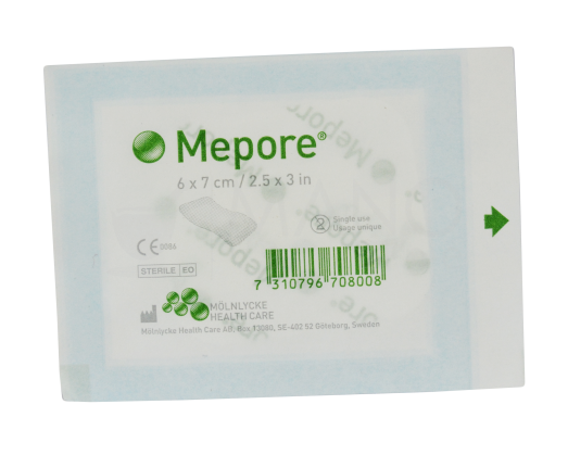 pl mepore chir ster 6x7cm