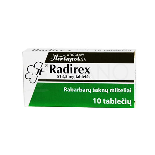 radirex tabletes n10