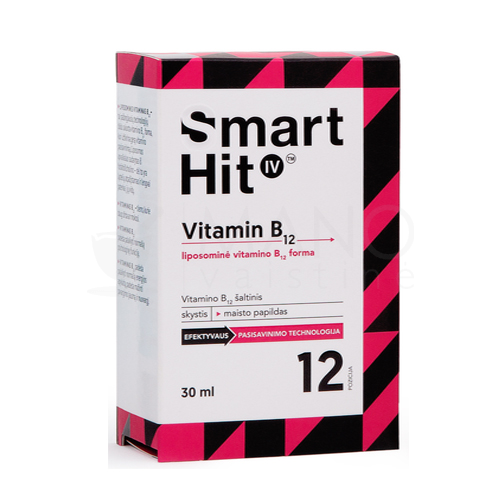 smarthit iv vitamin b12 30 ml