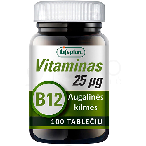 vitaminas b12 lifeplan tabletes n100 1