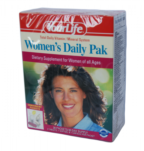 your life womens daily pak tab n 30x5