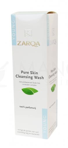 zarqa pure skin cleaning wash gel 200ml