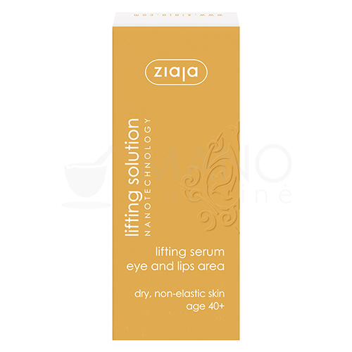 ziaja lifting solution liftinguojantis paakiu ir lupu srities kremas 30 ml