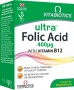 ULTRA Folic Acid, 60 tablečių