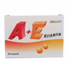 Vitaminas A+E 800 mkg / 25 mg, N60