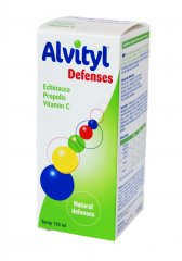 Alvityl Defenses sirupas, 120 ml
