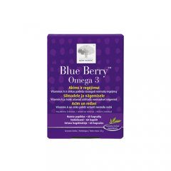 New Nordic Blue Berry Omega-3 kapsulės, N60