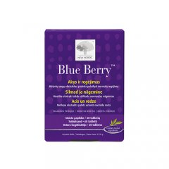 New Nordic Blue Berry tabletės, N60
