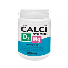Calci Strong + Mg + D3 tabletės, N150