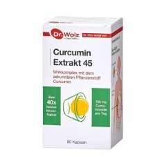 Dr.Wolz Curcumin Extract 45 caps. N90