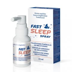 Fast Sleep Spray maisto papildas 24ml N1