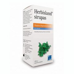 Herbisland 6 mg / ml sirupas, 150 ml