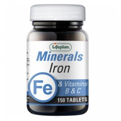 Lifeplan Iron&Vitamins B&C N150