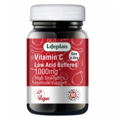 Lifeplan Vitamin C low acid 1000 mg N30