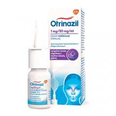 OTRINAZIL purškalas 0,1% 10ml
