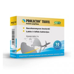 Prolacton Travel kapsulės N10
