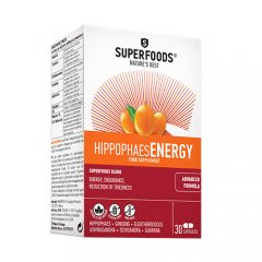 SUPERFOODS Hippophaes ENERGY, 30 kapsulių