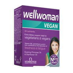 WELLWOMAN Vegan, 60 tablečių