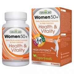Women 50+ Daily Multi-nutrient formula kapsulės N30