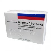 Thrombo ASS 50 mg tabletės, N100