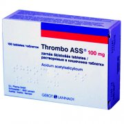 Thrombo ASS 100 mg tabletės, N100