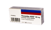 Thrombo ASS 50 mg tabletės, N30
