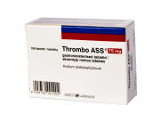 Thrombo ASS 75 mg tabletės, N100