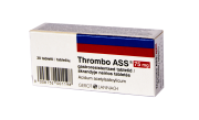 Thrombo ASS 75 mg tabletės  N30