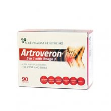 artroveron 5 in 1 with omega 3 kapsules n90 c