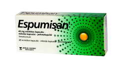 espumisan 40mg caps n25