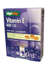 highway vitamin e 400 i u caps n20