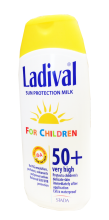 ladival spf50 children milk 200ml 131548