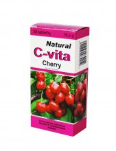 natural c vita cherry 60mg tab n30